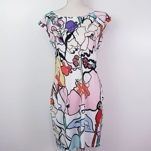 Jean-Pierre Klifa Floral Dress Size Medium